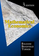 Mathematical Economics  3rd Edition
