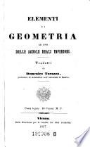 Elemementi di geometria ad uso delle scuole reali inferiori