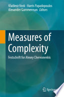 Measures of Complexity