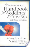 A Contemporary Handbook for Weddings   Funerals and Other Occasions