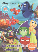 Disney Pixar Adventure Coloring