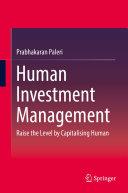 Human Investment Management Book