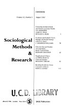 Sociological Methods and Research