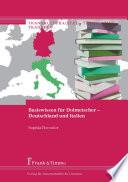 Basiswissen für Dolmetscher – Deutschland und Italien