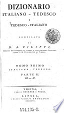 Dizionario italiano tedesco e tedesco italiano