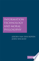 Information Technology and Moral Philosophy