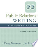 Public Relations Writing  Strategies   Structures