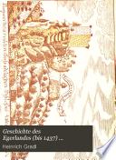 Geschichte des Egerlandes (bis 1437) ...