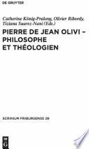 illustration Pierre de Jean Olivi - philosophe et théologien