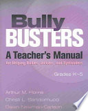 Ebook Bully Busters Epub Arthur M. Horne,Dawn Newman-Carlson,Christi L. Bartolomucci Apps Read Mobile