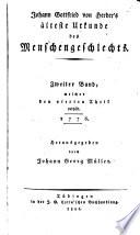 Johann Gottfried von Herder s s  mmtliche Werke zur Religion und Theologie