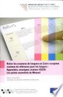 Relier les examens de langues au Cadre européen commun de référence pour les langues