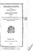 Chakradatta