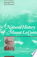 A Natural History of Mount Le Conte
