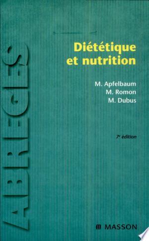Diététique et nutrition - ISBN:9782994099598