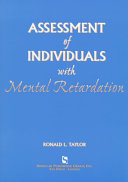 Assessment of Individuals with Mental Retardation