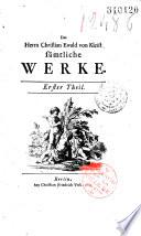 Sämtliche Werke... [Ed. Karl Wilhelm Ramber], [ill. J. W. Meil]