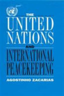The United Nations and International Peacekeeping Book PDF