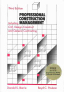 Professional Construction Management Including C M Design Construct And General Contracting