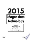 Magnesium Technology 2015 book