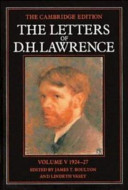 The Letters of D. H. Lawrence: Volume 5, March 1924-March 1927