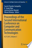 Proceedings of the Second International Conference on Computer and Communication Technologies