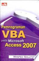 Pemr  VBA pada Ms  Access 2007