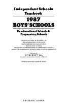 Independent Schools Year Book 1987