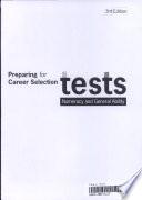 Preparing For Career Selection Tests