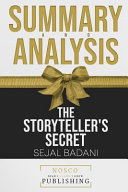 Summary And Analysis Of The Storyteller S Secret By Sejal Badani