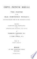 Corpus Poeticum Boreale Court Poems