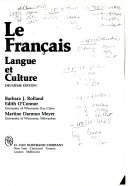 Le français, langue et culture