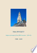 Registre des bourgeois d'Arras BB50 1ère partie - 1568-1610