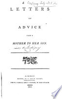 Letters of Advice from a Mother to her Son