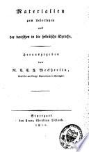 Materialien zum übersetzen aus der deutschen in die hebräische Sprache