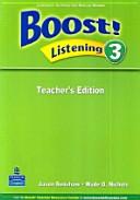Boost  Listening 3 Teachers Edition