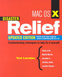 Mac OS X Disaster Relief