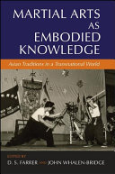 download ebook martial arts as embodied knowledge pdf epub