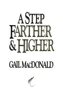 A Step Farther and Higher Book PDF