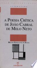 A poesia crítica de João Cabral de Melo Neto