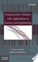 Nonparametric Statistics With Applications To Science And Engineering