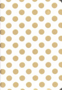 Gold Dots Journal  Diary  Notebook