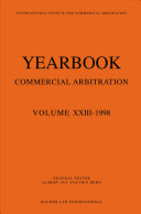 Yearbook Commercial Arbitration  1998