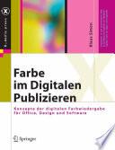 Farbe im Digitalen Publizieren