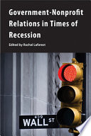 Government Nonprofit Relations In Times Of Recession
