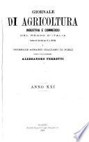 Giornale di agricoltura  industria e commercio del regno d Italia