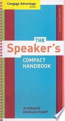 Cengage Advantage Books  The Speaker s Compact Handbook  Revised