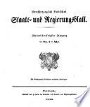 Gesetz- und Verordnungsblatt