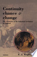 Ebook Continuity, Chance and Change Epub E. A. Wrigley Apps Read Mobile