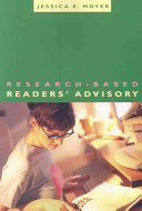 Research Based Readers Advisory book
